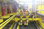 Le nettoyage se déroule dans une partie fermée de la machine. Moins de poussière. Moins de décibels.