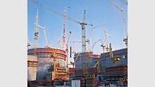Velká zakázka největší atomové elektrárny v Německu, jaderné elektrárny Gundremmingen, vedla ve Weissenhornu k zavedení montáže bednění.