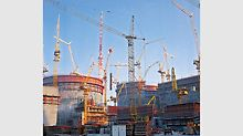 The large order for Germany's largest nuclear power plant in Gundremmingen leads to the foundation of the formwork assembly in Weissenhorn.