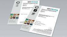 PERI Pressemeldung - Zertifizierung für die PERI Sperrholzplatten