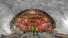 строительство туннелей, инженерное строительство