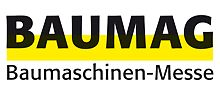 "Logo of the ""BAUMAG Baumaschinen Messe"""