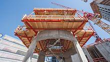 Viele Stahlbauteile aus Baukastensystemen wie VARIOKIT oder RCS sind in den PERI Mietparks verfügbar. Dass diese projektspezifisch angemietet werden können, macht die Lösungen besonders wirtschaftlich.