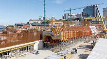 Museum of Tomorrow, Rio de Janeiro - Zur Realisierung des außergewöhnlichen Museums im vorgegebenen Zeit- und Kostenrahmen plante, fertigte und lieferte PERI über 3.500 maßgeschneiderte Sonderschalungselemente.