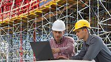 myPERI bietet effizientes Informationsmanagement für PERI Baustellen.