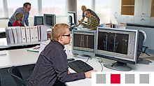 - nabídkové a prováděcí plány - 3D plánování / 5D plánování se simulací konstrukce - ověřené statické výpočty - výpisy prvků - školicí materiály