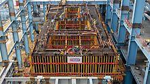 Termoelektrana Stanari, Doboj, Bosna i Hercegovina - osnova turbine iznosi 30,50 m x 12,00 m i karakterišu je masivne grede, ploče i zidovi. Pouzdani rešetkasti nosač GT 24, visoke krutosti na savijanje, jedan je od glavnih elemenata projektno specifičnog rešenja oplate.