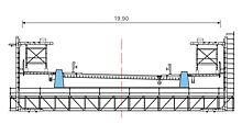 Baukastensystem mit großer Spannweite und hohen Lasten