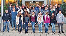 Gruppenbild der Nachwuchskräfte