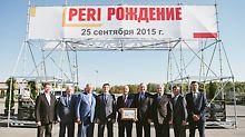 Представители администрации МО и Ногинского р-на на празднике по случаю запуска завода в России