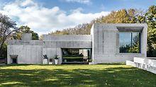 Tato betonová konstrukce je první obytnou budovou PERI ve Velké Británii, která byla bedněna lehkým univerzálním bedněním DUO. (Foto: seanpollock.com)