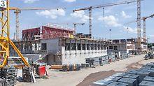 Campus one tesa in Norderstedt mit PERI Schalungs- und Gerüstlösung umgesetzt