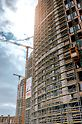 PERI UP Easy façade scaffolding was used in addition to PERI UP Flex falsework.   (Photo: Penta Real Estate)