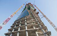Generali Tower, Milán, Itálie - Architektonická podoba zkroucených výškových domů od Zahy Hadid