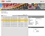 Extended capabilities in the myPERI online portal