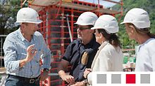 ◾Całodobowy dostęp dzięki aplikacji myPERI ◾Codzienne raporty z budowy ◾Pierwomontaż deskowania ◾Transport materiału ◾Wsparcie instruktora ◾Koordynacja budowy ◾Logistyka ◾Controlling ◾Kontrola jakości