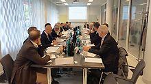 Sitzung des Vorstandes der Brancheninitiative Deutschland baut! e.V. am 02.Juni 2016. (Foto: Deutschland baut! e.V.)
