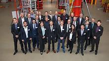 Die Finalisten von Hochschulen aus Deutschland und Österreich präsentierten Ende November ihre Lösungen im PERI Fortbildungszentrum in Weißenhorn vor Publikum und Fachjury.