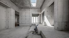 Ve skutečném slova smyslu posunuje struktura současné hranice. Nejen úhly budovy jsou zcela nepravidelné, ale také výšky podlah jsou různé.  (Foto: seanpollock.com)