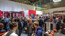 Already at the first day of the fair trade BAU 2019 in Munich PERI recorded a lot of visitors. Next to the awarded composite formwork DUO the expert audience was interested in the MAXIMO panel formwork, the PERI UP Easy facade scaffold as well as in many other innovations in hall A2 (booth 115).