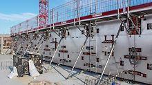 Koostöös PERI asjatudjatega mõtles ehitusmeeskond läbi uue köetava MAXIMO MXH raketise süsteemi kasutamise. Raketiste soojendamine on Soome jaoks tavaline, sest tagab normaalse betooni kivinemise talvistes tingimustes.