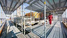 Die ursprüngliche Verantwortung für die baustellenspezifischen und gewerkeübergreifenden Arbeitsschutzmaßnahmen liegt nach der Baustellenverordnung immer beim Bauherren.
