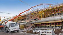 Museum of Tomorrow, Rio de Janeiro - projektiranje, montaža i dispozicija materijala detaljno su usklađeni s tijekom gradnje.