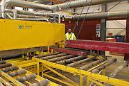De volautomatische reinigingsmachine zorgt voor een rendementsverhoging van 30%.