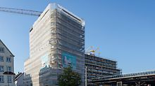 """Wohn- und Geschäftshaus """"Ypsilon"""", Ulm"""