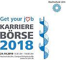 Karrierebörse 2018 - Hochschule Ulm
