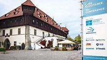 Blick auf das Konstanzer Konzil, welches auch 2016 als Veranstaltungsort für die 5D Conference dient.