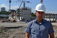 """ЖК """"Легенда"""", начальник участка Аязбек Кынырбеков отмечает эффективность работ с системами PERI"""