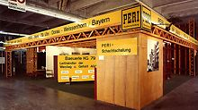 PERI nimmt zum ersten Mal an der bauma in München teil und präsentiert den T 70 Träger und die Raumkastenschalung.