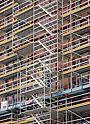 Elektrárna Eemshaven, Nizozemsko - Návrh lešení a montáže zohledňuje stávající ocelovou konstrukci – s maximálním přizpůsobením stavu stavby.