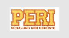 """""""Schalung und Gerüste"""" wird Teil des PERI Logos von 1985 bis 1989."""