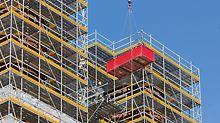 PERI UP rešenja industrijskih skela, prilagođena specifičnostima projekta, ubrzavaju radne procese i povećavaju stepen bezbednosti.