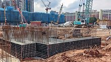 Within the last months, the universal formwork system DUO has been tried and tested on several jobsites – especially in different Asian as well as South American countries.