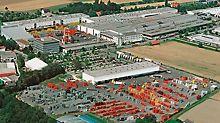 PERI erweitert die Produktionsflächen um 80 % und verdoppelt die Logistik- und Dispositionsflächen. Insgesamt investiert PERI ca. 80 Millionen Euro in Weißenhorn.