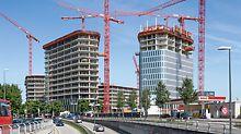 Bavaria Towers, München - Wand-, Stützen- und Deckenschalung aus einer Hand