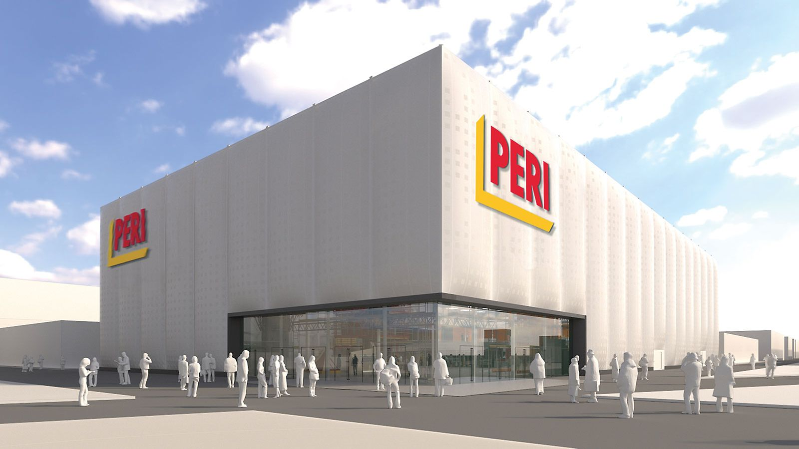 Design of the PERI exhibition hall at bauma 2019