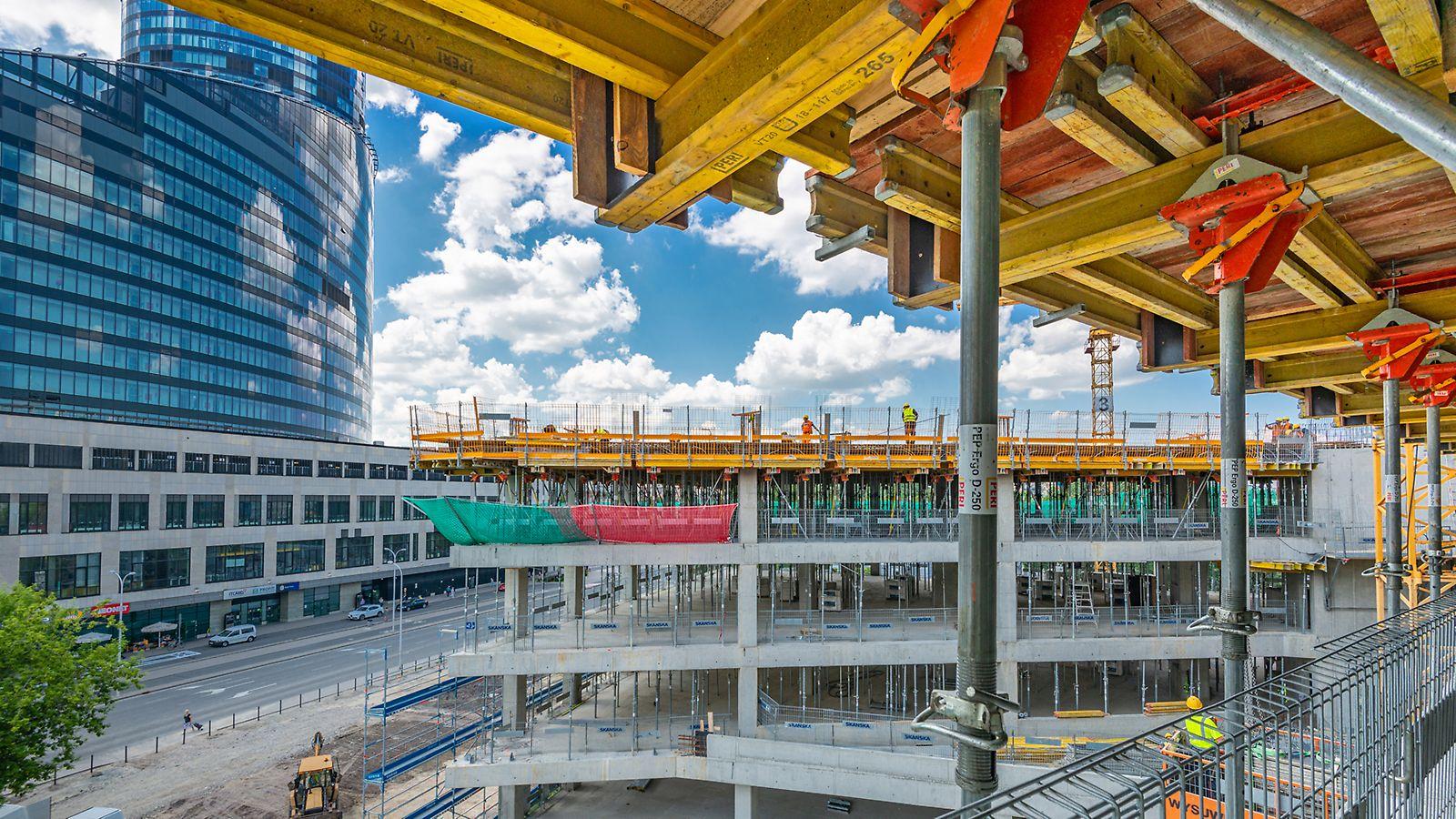 Kompleks biurowy Centrum Południe we Wrocławiu - faza 1.