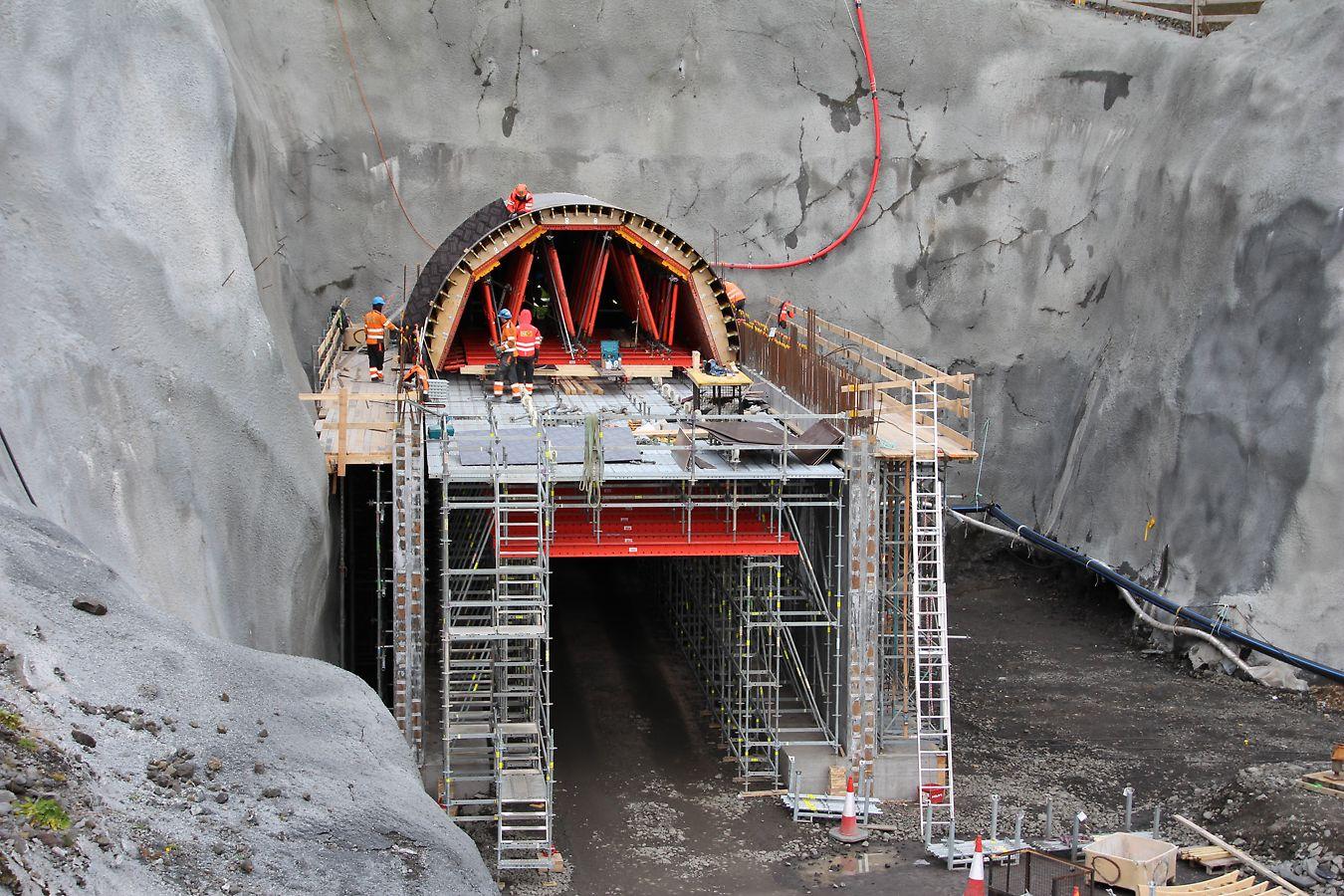 Burfell Tunnel, Iceland
