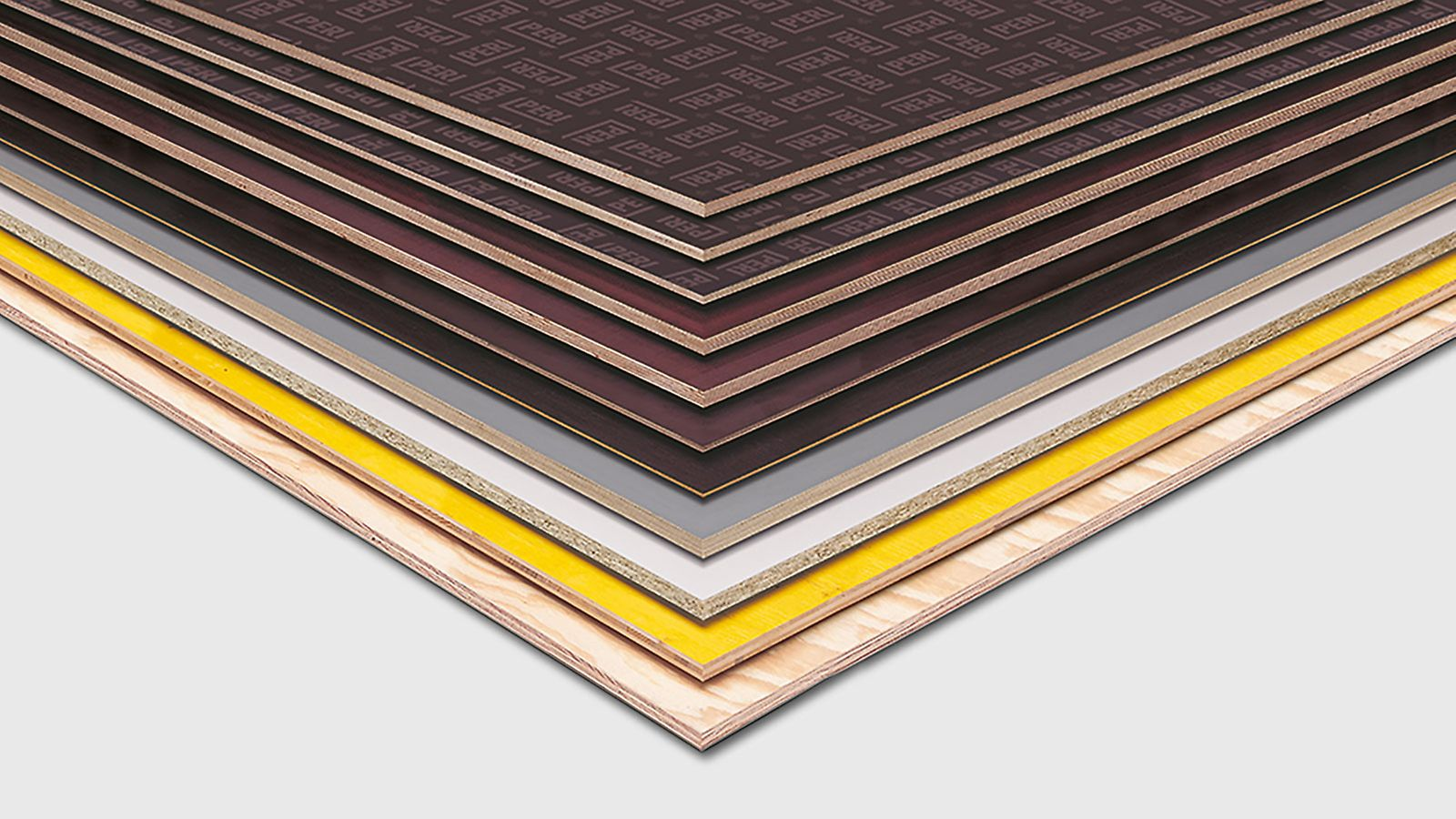 PERI plywood and wood-based panel are available in all size and length.