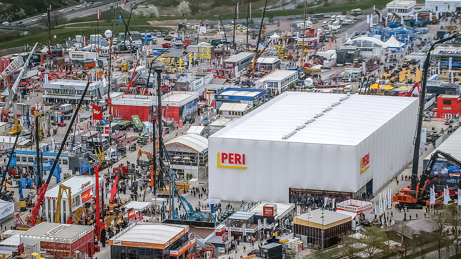 PERI at the bauma - Heli Photo