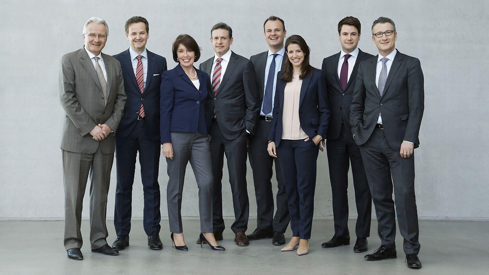 Schwörer familien og styrets medlemmer