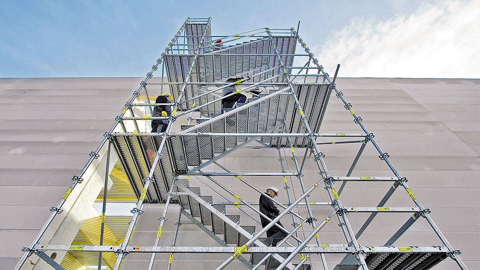 Zugänge für Baustelle, Industrie und den öffentlichen Bereich