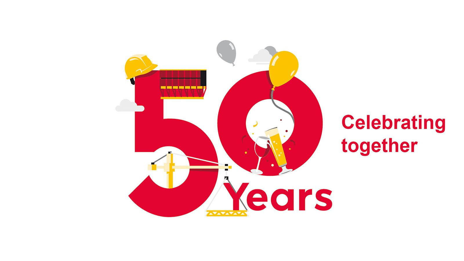 For 50 years, PERI products have made construction work more economical, faster and safer.