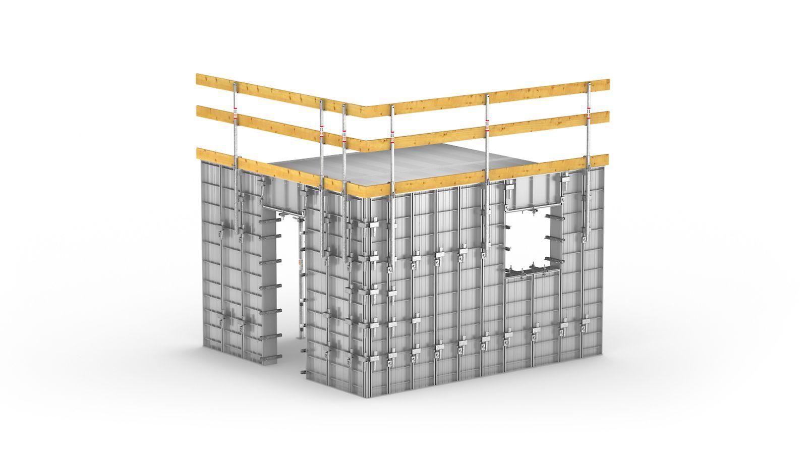 Forma rápida e eficiente para construções habitacionais de repetição