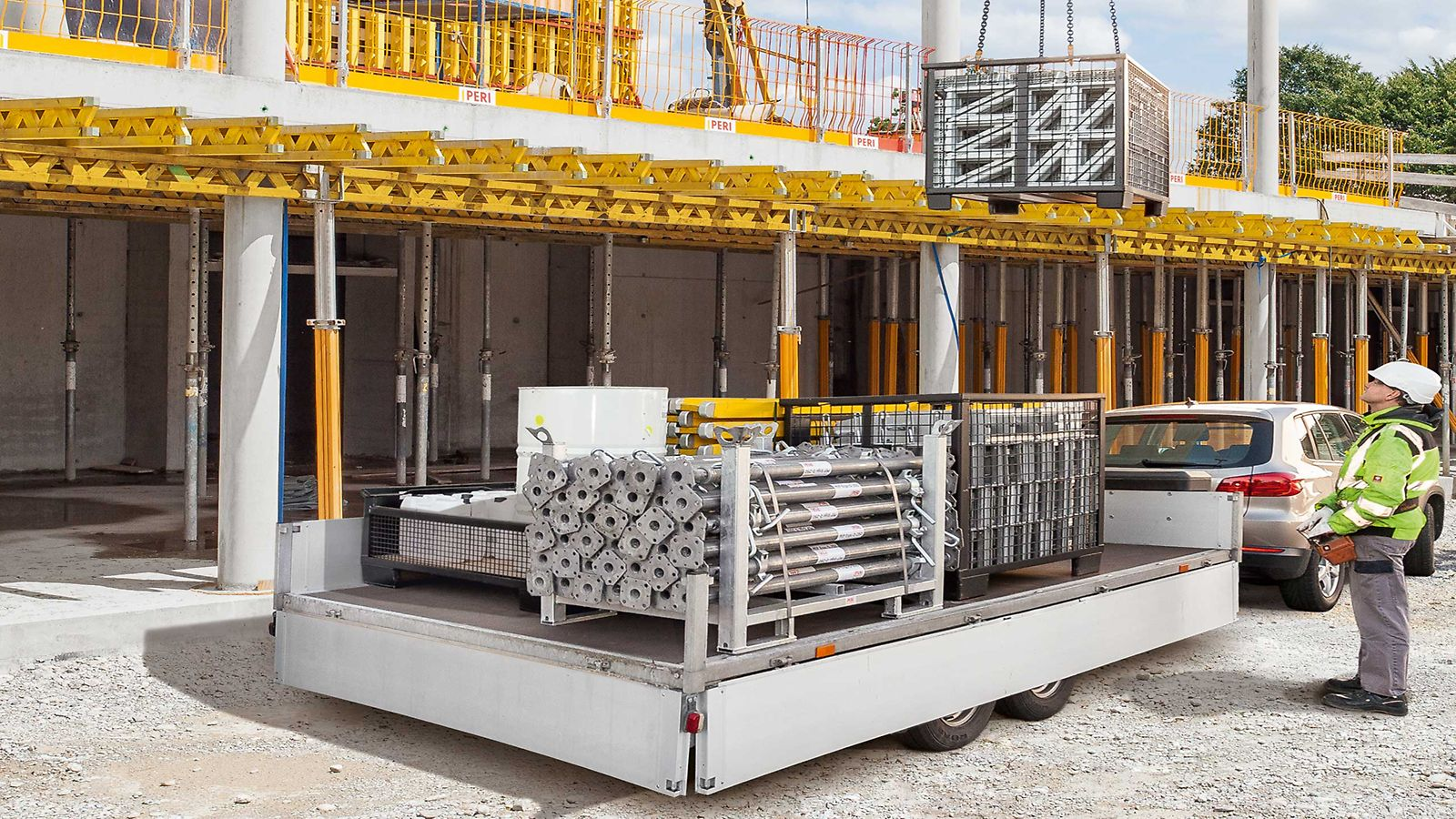 PERI Components are available for immediate delivery to your jobsite